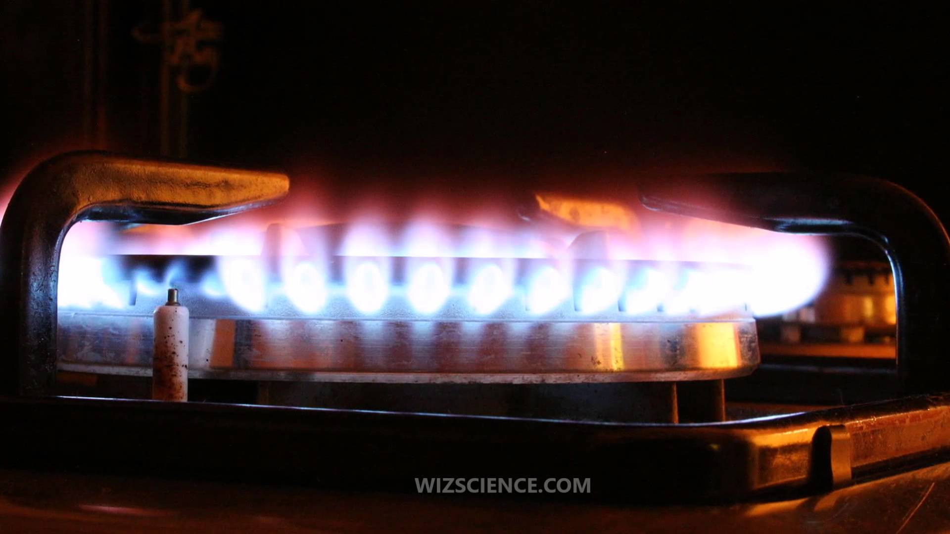 pilot light flame on booster heaters