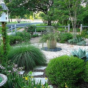Here's a great landscaping tip: Save money on landscaping by planting native crops that can adapt to your climate!