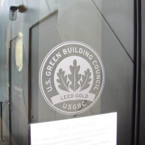 green business practices u.s. green building council logo