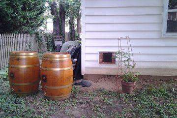 Easy Rainwater Harvesting: Rain Barrels
