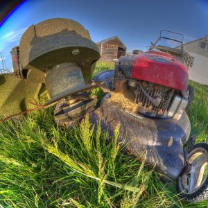 Use these small engine maintenance tips to keep your landscaping in top shape! edge trimmer and lawn mower