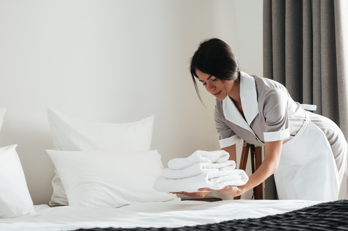 Housekeeping plays a significant roll in helping maintain sustainable hotel pratices