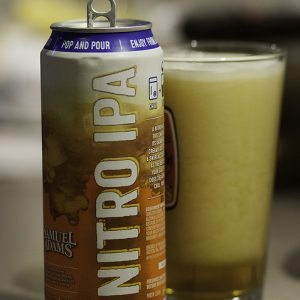 difference between nitro and cask beer samuel adams nitro ipa can glass