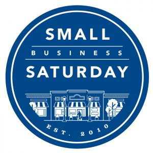 Support small business Saturday logo!