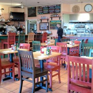 Support local restaurants like Whispers Cafe and Creperie for small business saturday!