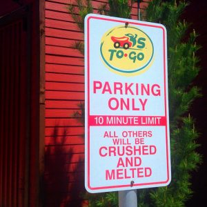 To go parking could be a factor worth considering in your restaurant to-go ordering system.