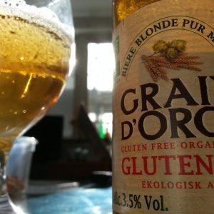 gluten-free beer grain d'orge organic ale