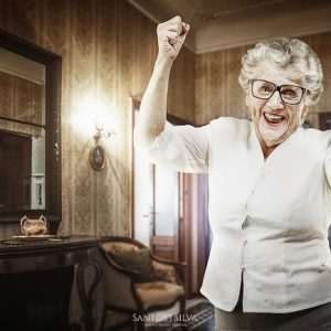 Make sure you read our assisted living checklist to ensure your grandmother is as happy as this one.
