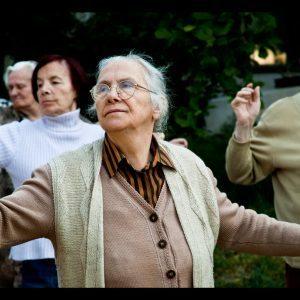 retirement home features senior tai chi
