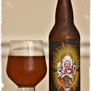Indiana Breweries zombie dust bottle and glass 3 floyds brewing