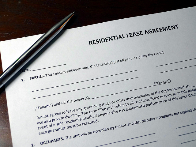 Altering your lease agreement could help you attract prospective tenants to your rental property.