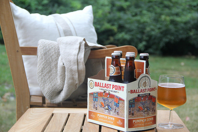 Ballast Point Pumpkin Beer is a Fall season favorite, perfect for cool autumn nights with friends