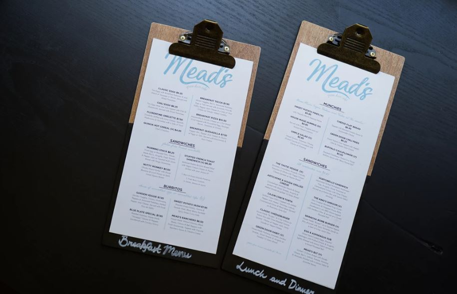 Your menu plans a role in your customers having a positive dining experience