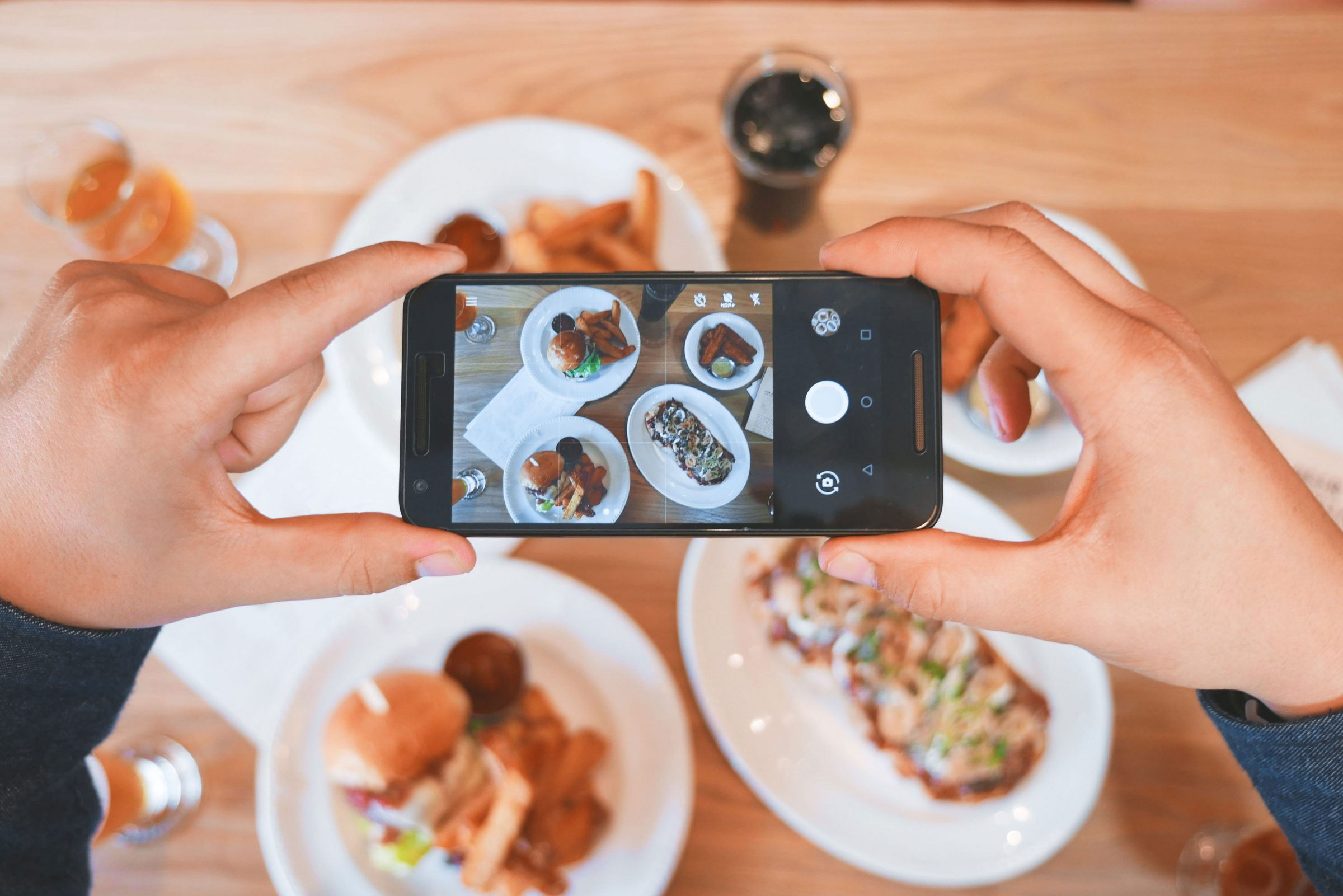 Customers love sharing foodie pictures to social media - this is a great way for your restaurant to get some promotion