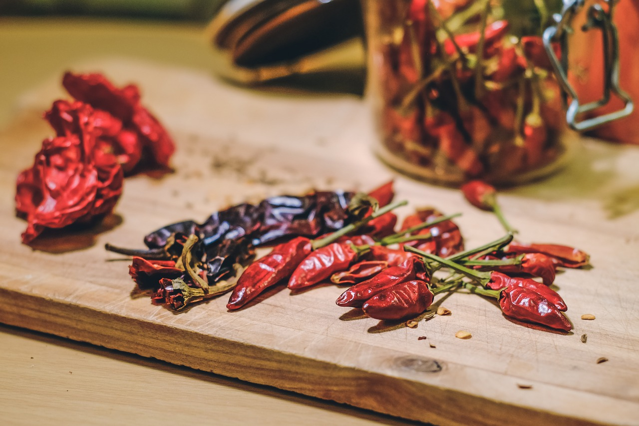 Roasted chilis are a potent ingredient of spicy beer, giving it a kick beer drinkers love