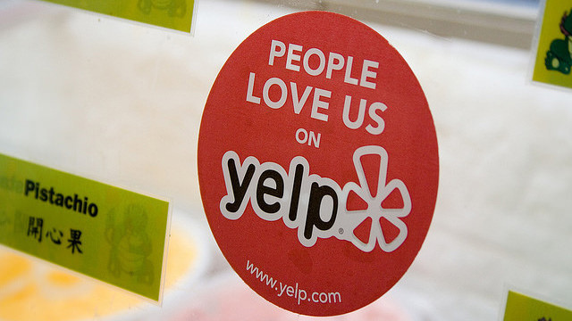 Yelp is a reliable restaurant review site for owners to check for customer reviews and feedback