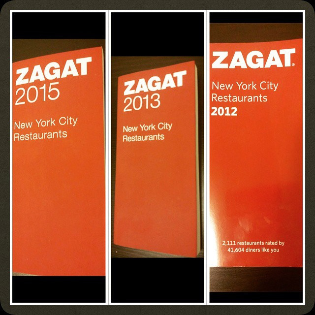 Zagat is a classic and respected restaurant review site