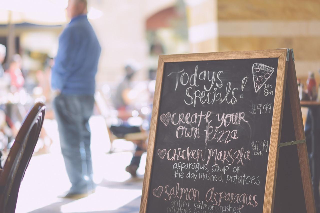Your restaurant menu should catch the attention of your customers