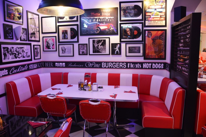 Restaurant decor with art that reflects the theme of the restaurant is sure to impact a diner's experience.
