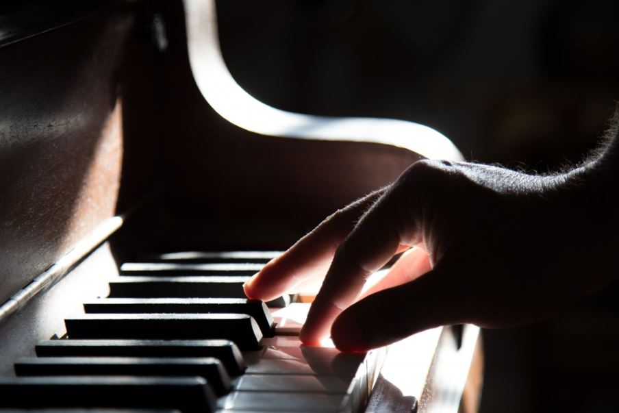 Giving seniors access to musical instruments like a piano helps with memory recognition