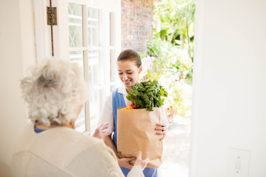 Protect residents at your senior living facility by encouraging grocery delivery
