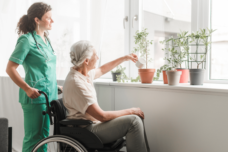 Protect your senior residents by limiting visitors to essential caregivers and personnel only