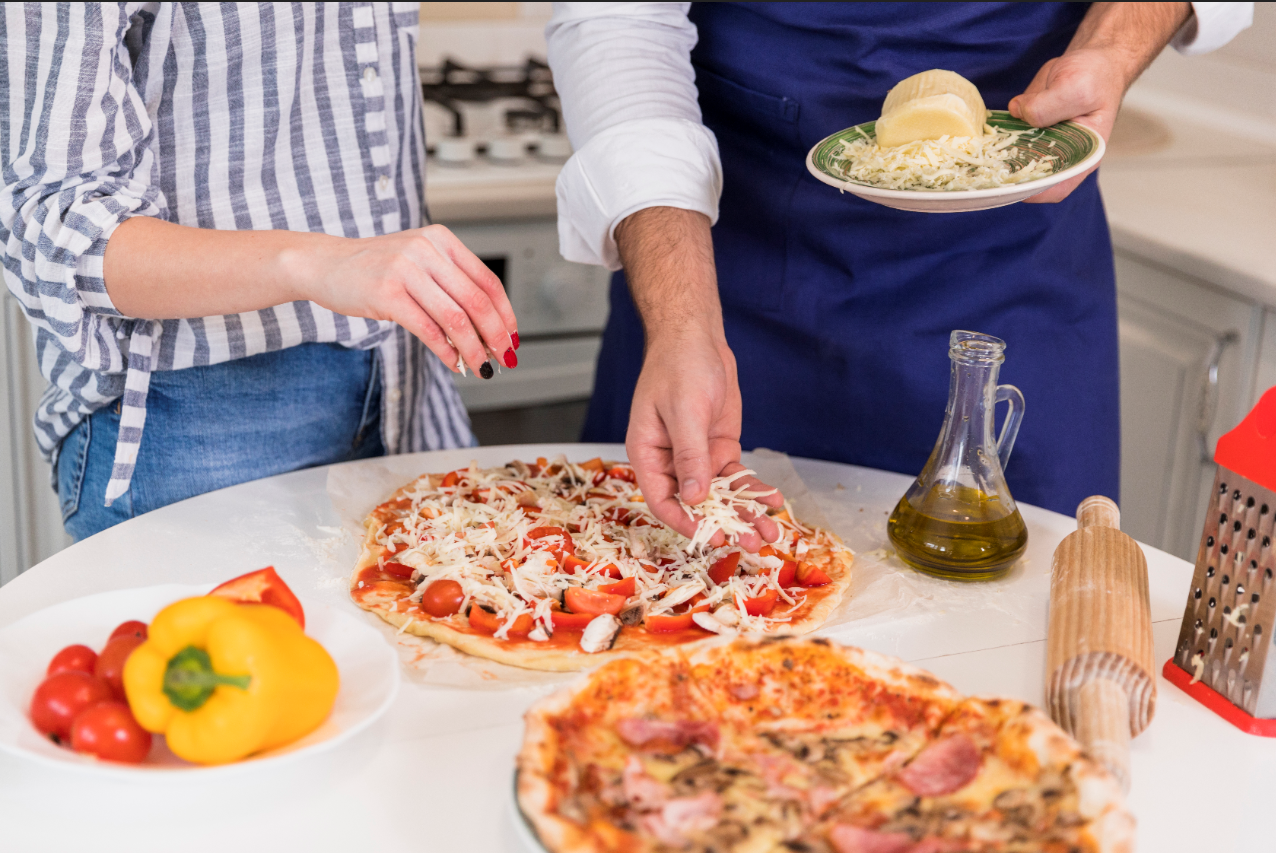 Restaurants are making DIY menu options like take and bake pizza for families stuck at home
