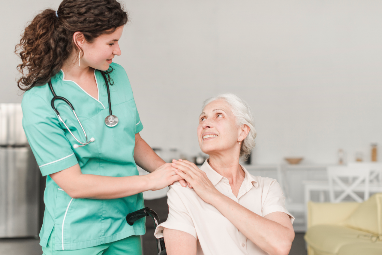 Caregivers are front line workers responsible for helping seniors keep safe hygiene