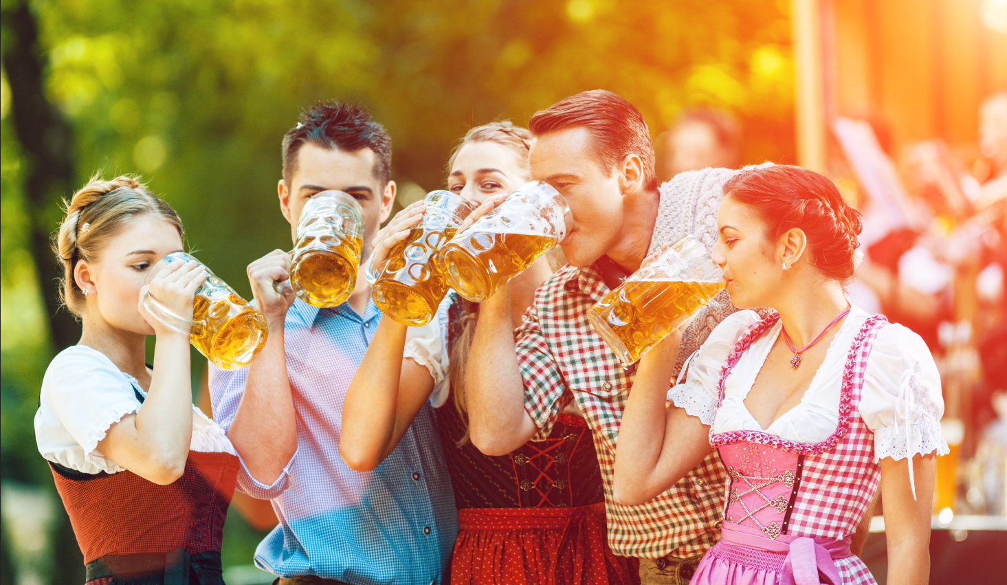 Once the rules and precautions are in place, it's time to focus on what makes beer gardens a great experience—the fun!