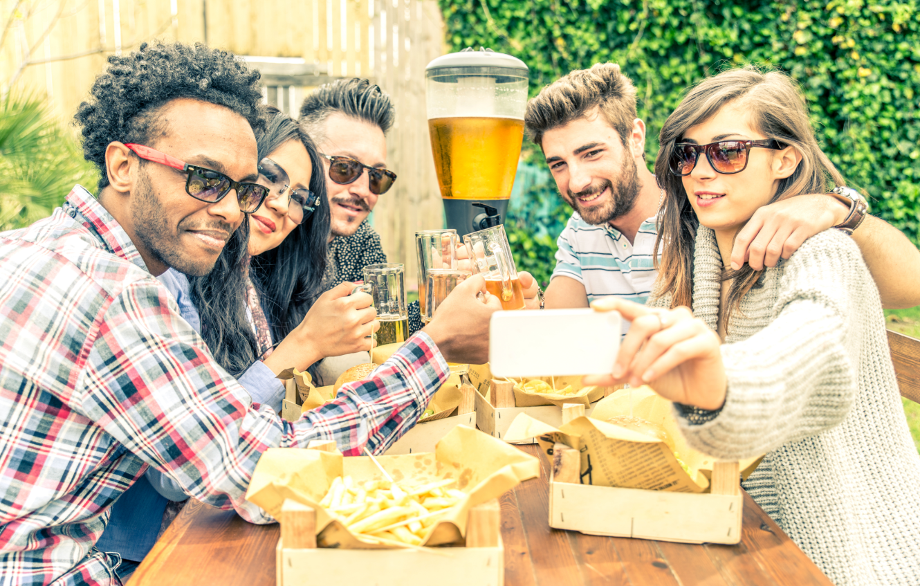 In the beer garden, you will need to set up some clear, simple rules for guests, such as table limits, to help patrons follow safe social distancing guidelines