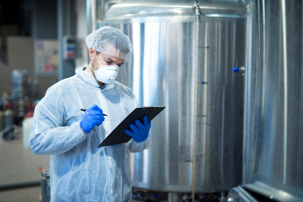 To prevent a food production recall, ensure everything from training, PPE, and proper sanitation is in place at your food manufacturing facility