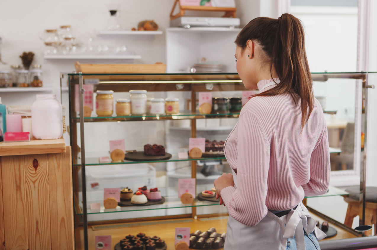 This small business bakery owner has learned valuable lessons about selling her delicious treats during a pandemic.