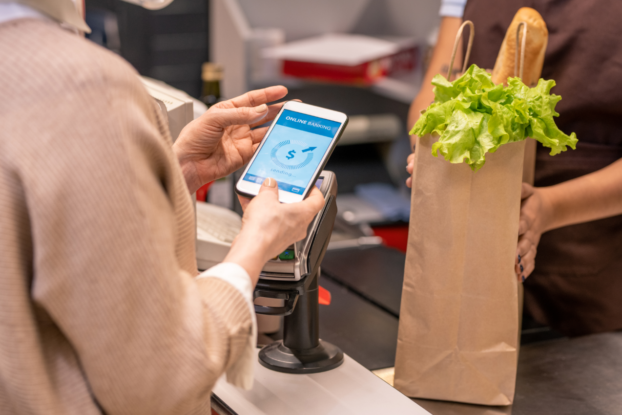 Updating your restaurant POS system to accommodate touchless payment is convenient for many customers.