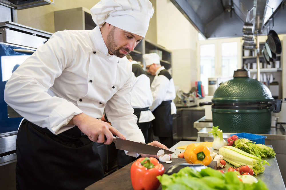 Make sure your chefs limit their food waste by making use of all their resources, including fruit and vegetable scraps